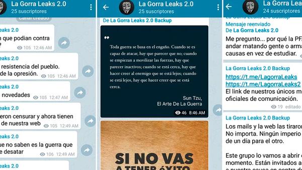 La Gorra Leaks