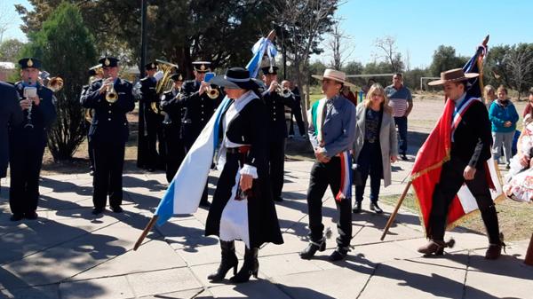 Se conmemoraron los 209 años de la independencia chilena