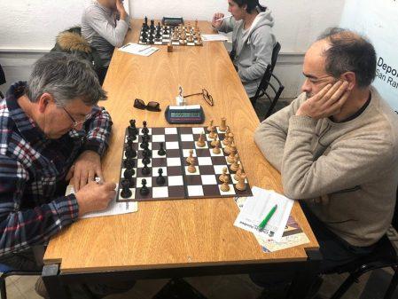 San Rafael: Gustavo Jasen ganó la última ronda de Ajedrezen Tercera categoría