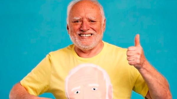 """Quién es el hombre detrás de Hide the Pain Harold: """"No recibo un centavo de mis memes"""""""