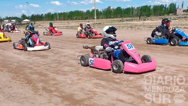 Gran fecha del Campeonato Mendocino de Karting en Tierra